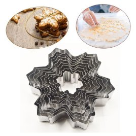 9pc Snowflake Fondant Molds