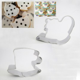 Tea Cup Tea Pot Cookie Cutters