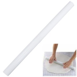 19 inch White Rolling Pin