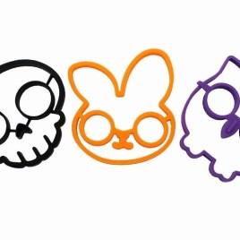 Pancake Molds – Owl, Skull, Rabbit
