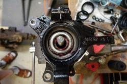 Insert the inner bearing.