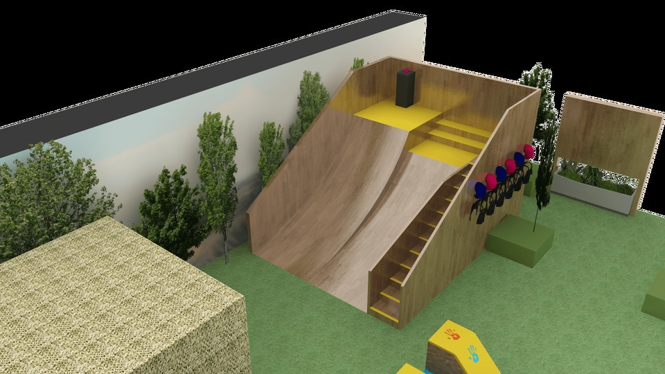 3D EVENT INSTALLATION DESIGN WORKS