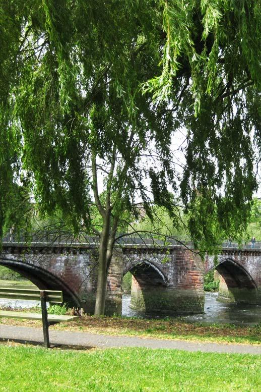 Photo: The Old Dee bridge