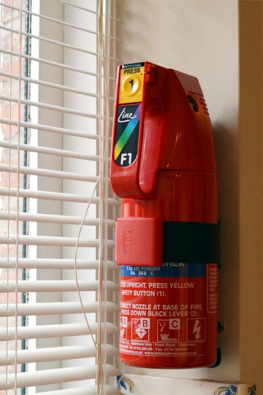 Photo: Fire extinguisher