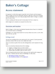 Access statement PDF