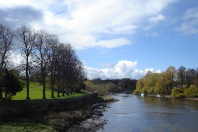 The river Dee from the Old Dee Bridge