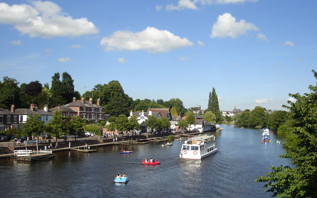 The River Dee at Chester