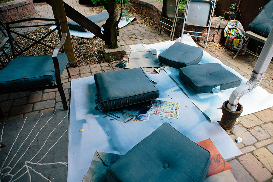 Patio-Makeover-Fabric-Spray-Paint-5 Patio Makeover with Fabric Spray Paint Home & Design Our Life