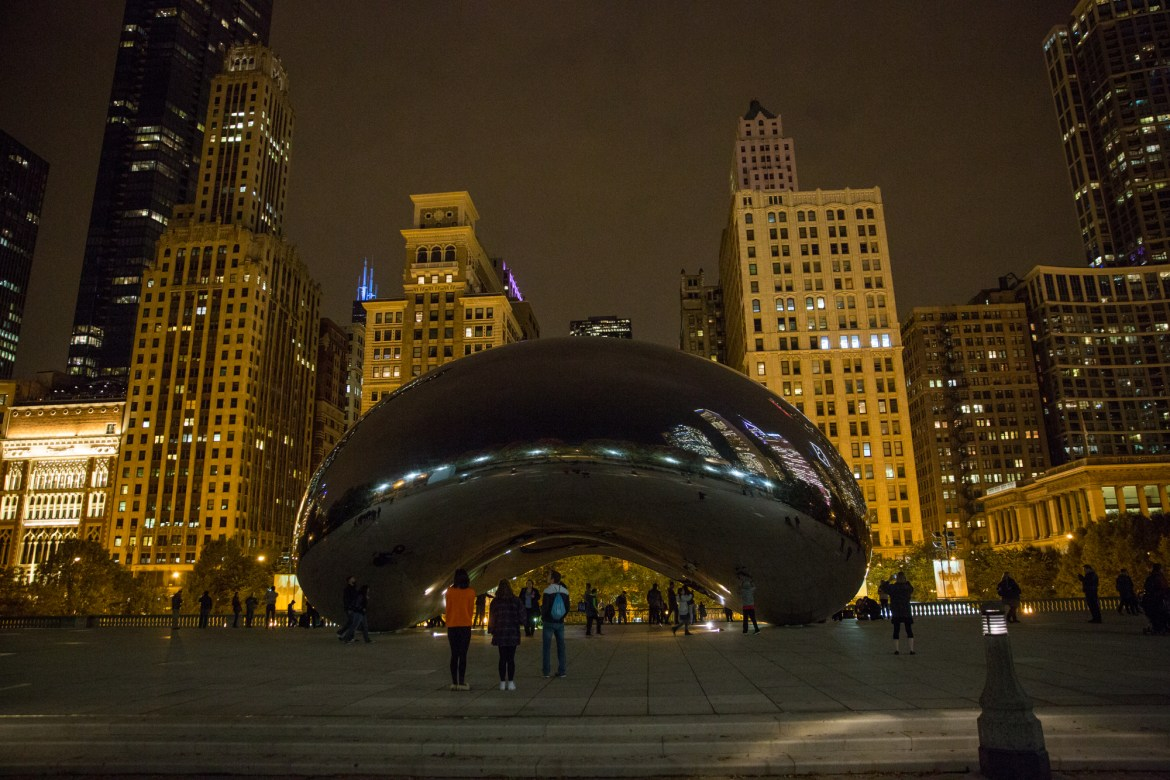 chicago-at-night-BLOG-117 Night Walk in Chicago Travel