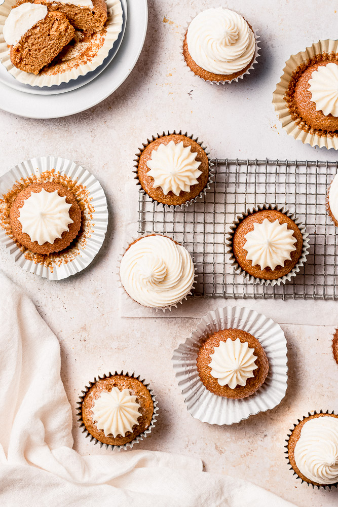 best carrot cake cupcakes