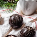 hot chocolate bombs with mug