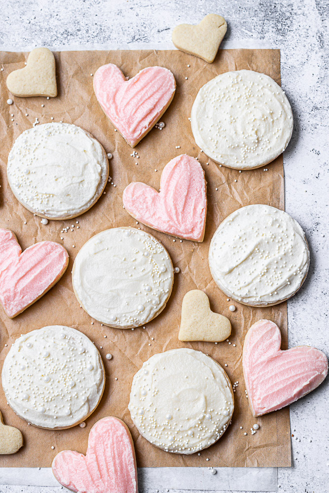 buttercream frosting cookies