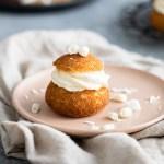 pumpkin spice cream puff
