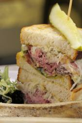 YGEH Baker Street Station Pastrami and Ox Tongue Sandwich