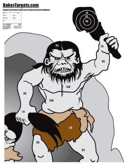 caveman target