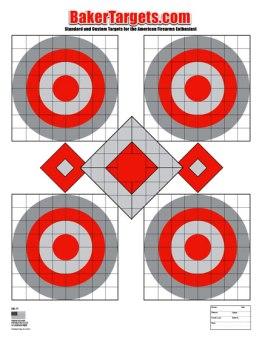 seven shot target