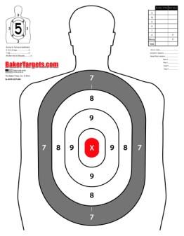 b27e oval target