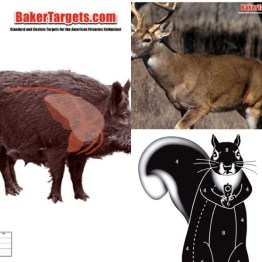 Paper Animal Targets
