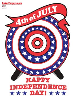 4th of july gun targets