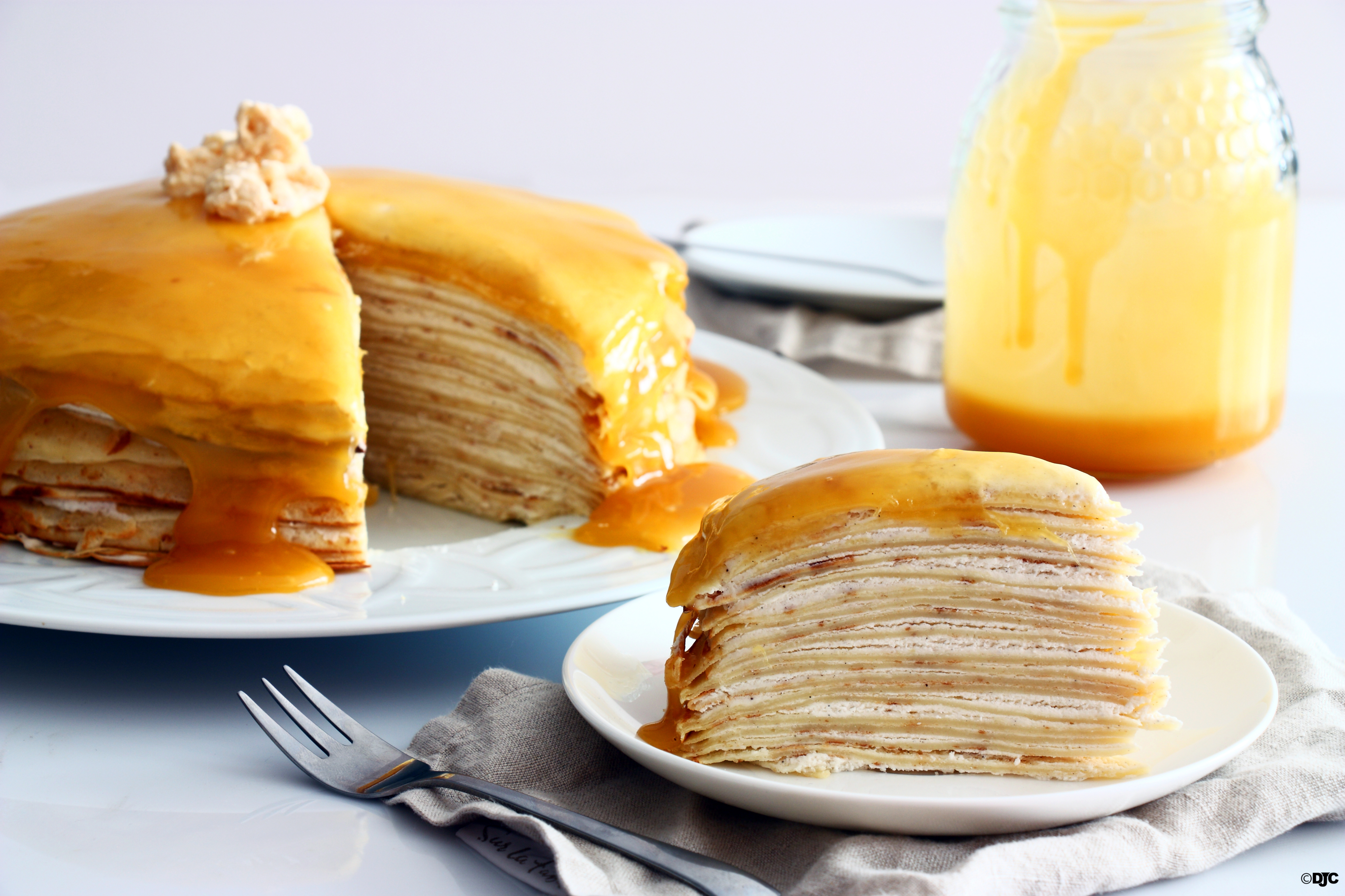 עוגת קרפים