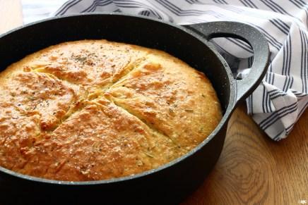 לחם תבלינים במחבת