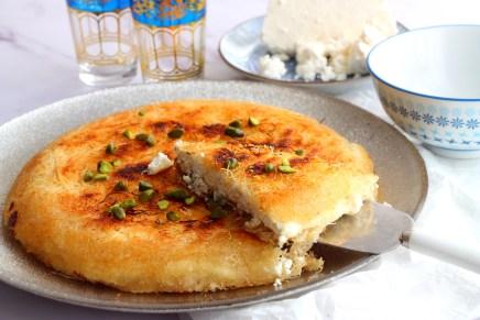 גבינה צ'רקסית בבית וגם כנאפה טרייה