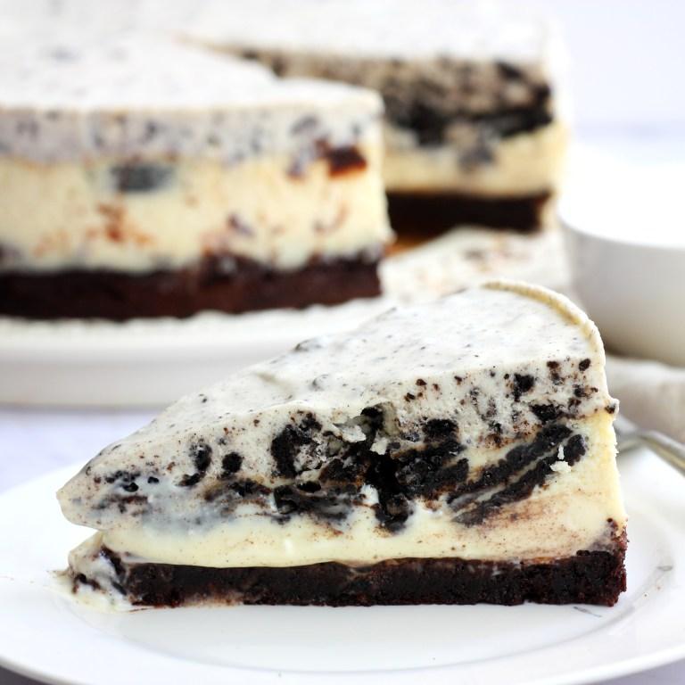 עוגת גבינה-אוריאו מושחתת