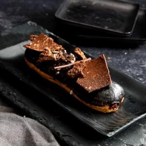 אקלר שוקולד טונקה
