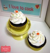 Devil Food Cupcake com Chantininho