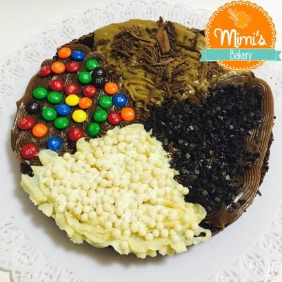Pizza de Brownie