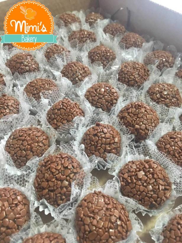 Brigadeiro Gourmet com Confeito Belga