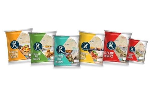 Deli Kitchen wraps extends Tesco range