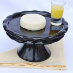 Vanilla Bean Panna Cotta With Lemon Curd