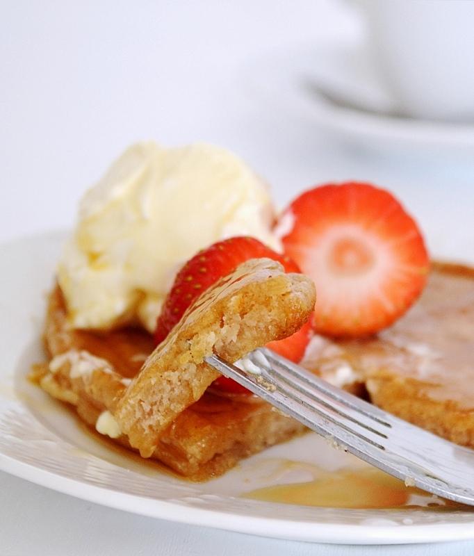 American Style Cinnamon Pancakes
