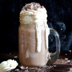 Chocolate Liqueur Hot Chocolate with Baileys Cream