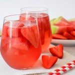 Watermelon Strawberry Rosé Sangria