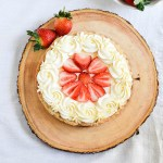 Strawberry Mascarpone Cream Tart