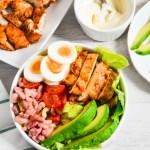 Spiced Chicken Club Salad