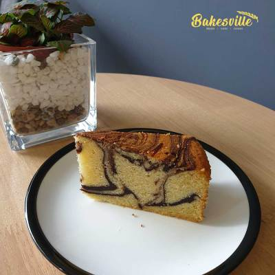 Butter Marble Cake