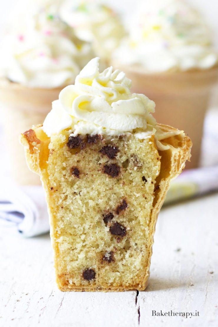 Cupcake gelato