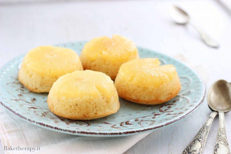 Tortine capovolte con ananas