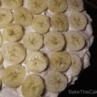 Fresh Banana Frosting Recipe for Betty's Banana Layer Cake