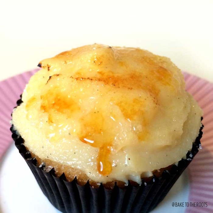 Crème Brûlée Cupcakes | Bake to the roots