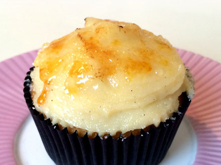 Crème Brûlée Cupcakes   Bake to the roots