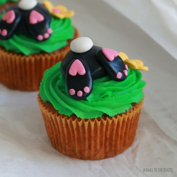 Easter Bunny Cupcakes | Bake to the roots