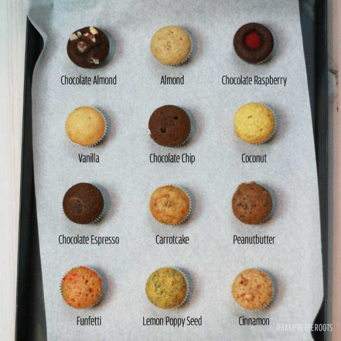 Freestyle Mini Vegan Cupcakes | Bake to the roots