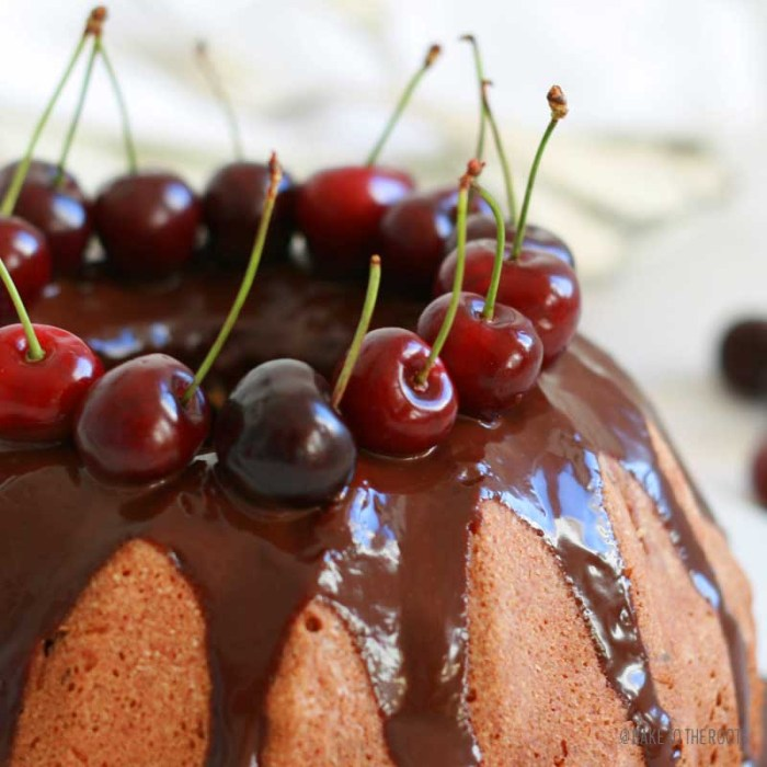 Merry Cherry Bundt Cake | Bake to the roots