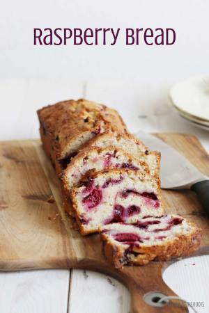 Easy Raspberry Bread