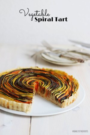 Gemüsetarte aka. Vegetable Spiral Tart