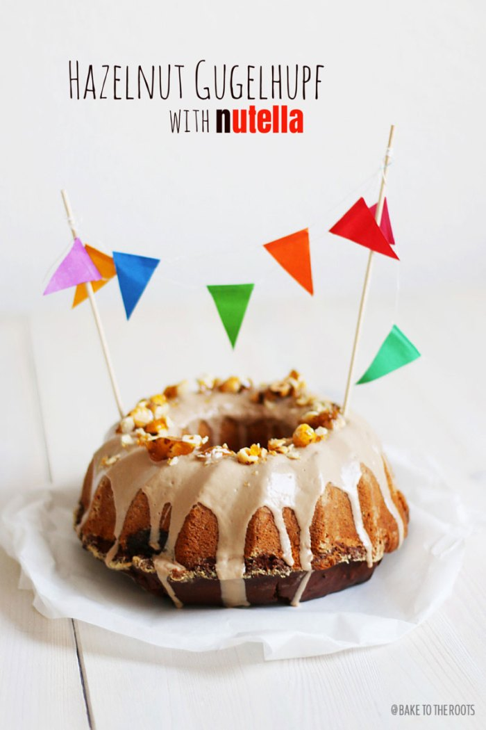 Hazelnut Gugelhupf with Nutella | Bake to the roots